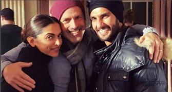 PIX: Ranveer Singh visits Deepika Padukone on the sets of xXx 3