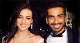 PIX: Sanaya Irani and Mohit Sehgal's Goa wedding