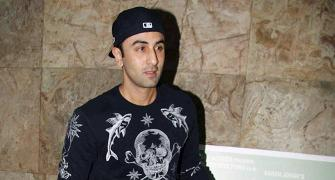 PIX: Ranbir Kapoor watches dad's film, Kapoor & Sons