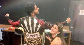 PIX: Varun Dhawan, Jacqueline have fun at TOIFA