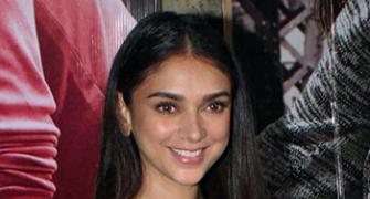 PIX: Aditi Rao Hydari watches Ki & Ka with the Bachchans