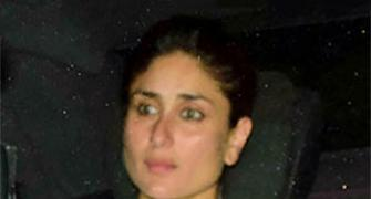 PIX: Kareena, Karisma attend grandmother's prayer meet