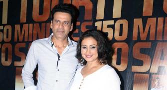PIX: Manoj Bajpayee, Divya Dutta, Kartik Aryan watch Traffic