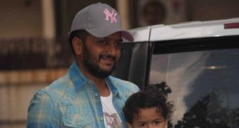 PIX: Riteish and Riaan at Shilpa Shetty's son's birthday bash
