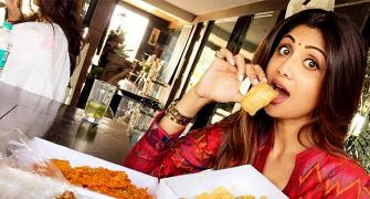 What's on Shilpa Shetty's plate?