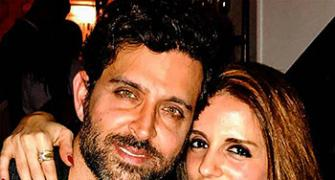 What do these pix of Hrithik and Sussanne say?