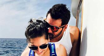 PIX: Shabbir-Kanchi's fun Maldives holiday