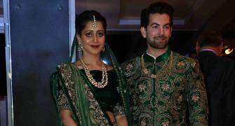 PIX: Salman, Katrina, Big B, Rekha attend Neil Nitin Mukesh's reception