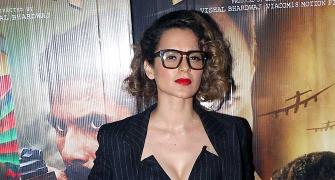 PIX: Kangana watches Rangoon