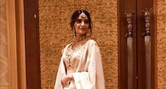 PIX: Sonam, Arjun, Sridevi at a family wedding
