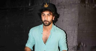 PIX: Ranbir watches Jagga Jasoos with family