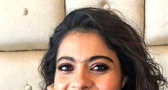 As a child, Kajol sweeped the house, cleaned the bathroom