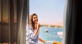 PIX: Parineeti Chopra's awesome Egypt holiday