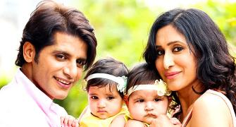 PIX: Meet Karanvir Bohra's CUTE daughters