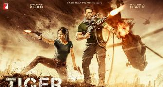 Salman-Katrina get trigger-happy in Tiger Zinda Hai