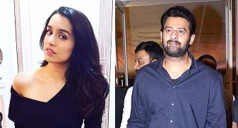 What's the deal between Prabhas and Shraddha?