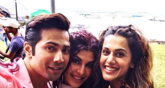 Behind the scenes of Judwaa 2: Too much fun!