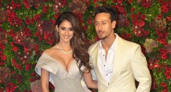 Disha-Tiger and other couples at DeepVeer reception