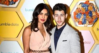 Priyanka, Nick are off to work!