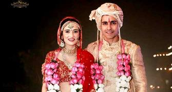 PIX: The Gautam Rode-Pankhuri Awasthy wedding