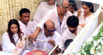 PHOTOS: Sridevi's final journey