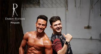 Just look at Tiger Shroff's fab abs!