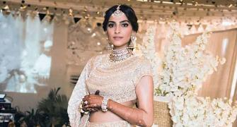 Pix: How Sonam picked the very best for her wedding