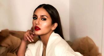 Cannes 2018: Huma Qureshi goes gold