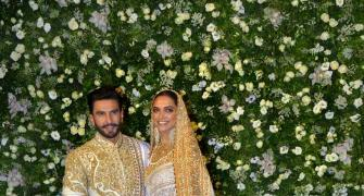 WATCH: Deepika-Ranveer at their Mumbai reception