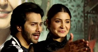 Watch! Anushka, Varun step up for Tanushree Dutta