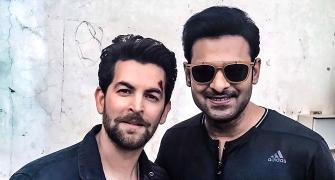 What are Prabhas and Neil Nitin Mukesh up to?