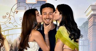 Watch: Tiger Shroff blushes yet again!