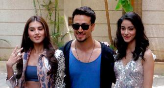 WATCH Tiger, Ananya, Tara dance!