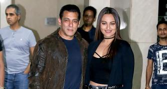 PIX: Katrina, Sonakshi at Salman's birthday bash