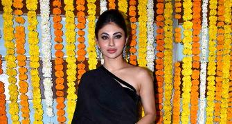 PIX: Mouni, Karishma, Abhishek party with Ekta Kapoor