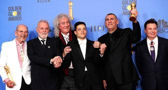 SHOCKING night at the Golden Globes!