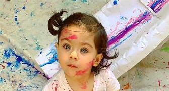 How star kids celebrated Holi