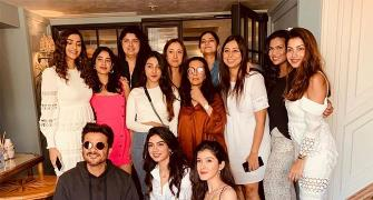 What's Anil Kapoor doing with all these women!
