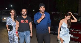PIX: Malaika parties with Arjun Kapoor