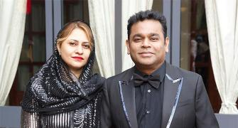 Pix: Mrs and Mr Rahman have fun at Cannes