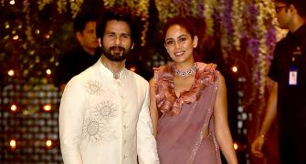 PIX: Shahid-Mira party with the Ambanis