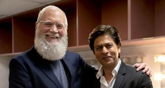 How Shah Rukh beat Letterman at his game