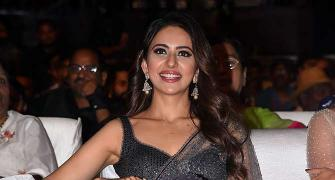 PIX: Rakul Preet's night out