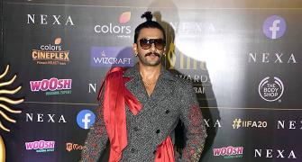 PIX: Ranveer, Salman, Shahid add swag to IIFA