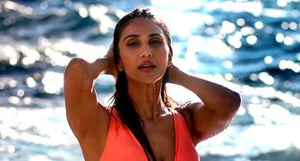 Vaani puts on her bikini body for War