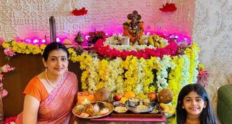How are star kids celebrating Ganpati?