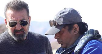 What it is like working with Sanjay Dutt