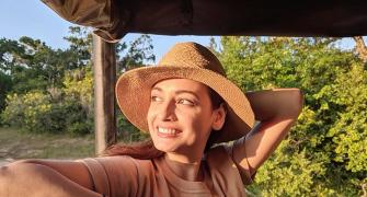 PIX: Dia Mirza's Sri Lankan holiday