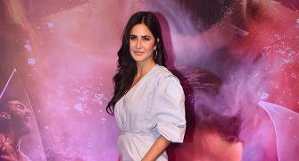 PIX: Katrina watches a film with Sonam, Disha