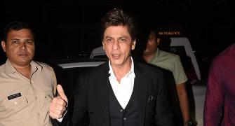PIX: Shah Rukh parties with Katrina
